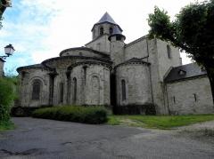 Ancienne abbaye - Français:   Abbatiale Saint-Pierre de Beaulieu-sur-Dordogne (19). Chevet.