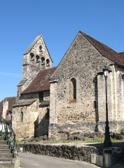 Eglise Notre-Dame ou des Pénitents - Nederlands: Beaulieu-sur-Dordogne, Corrèze, Limousin, Frankrijk - Chapelle des Pénitents of Église Notre-Dame (XIIe, XIVe en XVe eeuw).