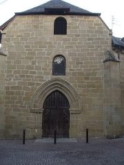 Ancienne chapelle Saint-Libéral - English: Chapel Saint-Libéral,XV è siècle, Brive-la-Gaillarde, France, with its limousin roman style