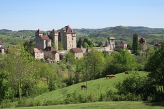 Châteaux de Saint-Hilaire et des Plas - This building is indexed in the Base Mérimée, a database of architectural heritage maintained by the French Ministry of Culture, under the reference PA00099759 .