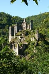 Restes du château de Merle - Français:   Les Tours de Merle