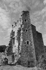 Restes du château de Merle - Français:   Tours de Merle