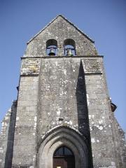 Eglise Notre-Dame de l'Assomption - Français:   Façade de l\'église Notre-Dame-de-l\'Assomption de Sainte-Marie-Lapanouze (Corrèze, France)