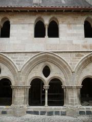 Cathédrale Saint-Martin, actuellement Notre-Dame et cloître, actuellement Musée municipal - Français:   Cloître de la cathédrale Notre-Dame (Tulle, Corrèze)  Actuellement Sacristie et musée municipal.  construction: XIIe-XIIIe-XIVe & XIXe s.