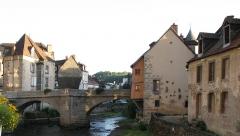 Pont sur la Terrade -  Pont de la Terrade, Aubusson, Creuse