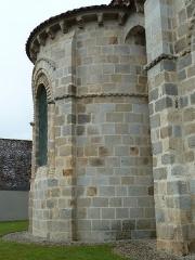 Eglise Sainte-Valérie - English: Chambon-sur-Voueize. Sainte Valérie abbey church. Apse.
