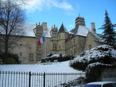 Ancien Hôtel des Moneyroux, appelé improprement ancien château des Comtes de la Marche, actuellement siège du Conseil général -  gueret moneyroux 457878