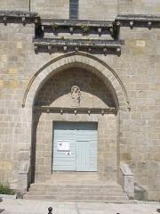 Eglise Notre-Dame - Église Notre-Dame de La Souterraine (Creuse, France), portail sud