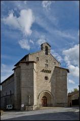 Eglise de l'Ordination de Saint-Martin - English: Fortified church of Blond, Haute-Vienne, France