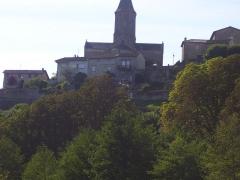 Eglise Saint-Thyrse -  Église Saint-Thyrse de Châteauponsac