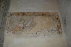 Eglise Saint-Yrieix et Saint-Eutrope - Français:   Église Saint-Yrieix-et-Saint-Eutrope de Janailhac fresque murale