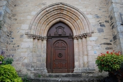 Eglise Saint-Yrieix et Saint-Eutrope - Français:   Église Saint-Yrieix-et-Saint-Eutrope de Janailhac, porte d\'entrée