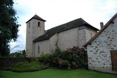 Eglise Saint-Yrieix et Saint-Eutrope - Français:   Église Saint-Yrieix-et-Saint-Eutrope de Janailhac vue latérale