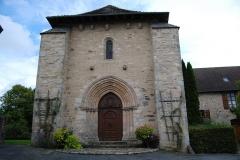Eglise Saint-Yrieix et Saint-Eutrope - Français:   Église Saint-Yrieix-et-Saint-Eutrope de Janailhac portail principal