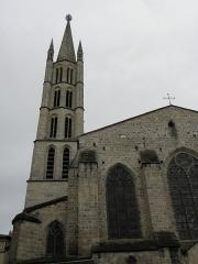 Eglise Saint-Michel-des-Lions - Français:   Chevet et clocher de l\'église Saint-Michel-des-Lions de Limoges (87).