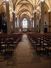 Eglise Saint-Michel-des-Lions - Français:   Intérieur de l\'église Saint-Michel-des-Lions de Limoges (87).