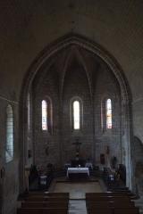 Eglise Saint-Germain - Deutsch: Kirche Saint-Germain in Saint-Germain-les-Belles im Département Haute-Vienne in der Region Centre (Frankreich)