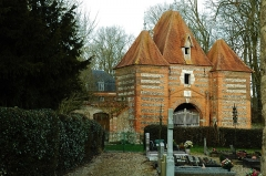 Château - This building is indexed in the Base Mérimée, a database of architectural heritage maintained by the French Ministry of Culture,under the reference PA00100552 .