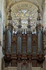 Eglise Notre-Dame - Français:   Orge  de l\'église ND à Caudebec en Caux, Seine Maritime, France
