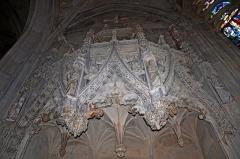 Eglise Notre-Dame - Français:   Baldaquin de la chapelle du St Sépulcre de l\'église ND à Caudebec en Caux, Seine Maritime, France