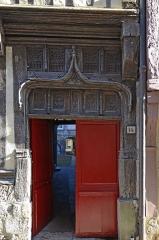 Immeuble - Français:   Immeuble du 14 Grande Rue , Caudebec en Caux, Seine Maritime, France
