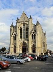 Collégiale Notre-Dame et Saint-Laurent - Nederlands: Eu (departement van de Seine-Maritime, Frankrijk): kapittelkerk Onze-Lieve-Vrouw en Sint-Laurentius