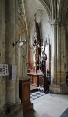 Collégiale Notre-Dame et Saint-Laurent - Nederlands: Eu (departement van de Seine-Maritime, Frankrijk): interieur van de kapittelkerk Onze-Lieve-Vrouw en Sint-Laurentius
