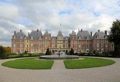Ancien domaine royal - Nederlands:   Eu (departement van de Seine-Maritime, Frankrijk): het kasteel