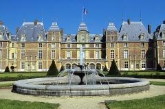 Ancien domaine royal - Français:   Château d\'Eu (Inscrit Classé)