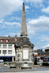 Fontaine pyramidale - Français:   Fontaine pyramidale de Gournay-en-Bray
