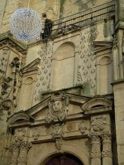 Eglise Saint-Martin - Français:   L\'église Saint-Martin d\'Harfleur: détail de la façade.