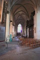 Eglise Saint-Martin - Français:   Nef de l\'église Saint-Martin d\'Harfleur.