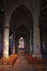 Eglise Saint-Martin - Français:   Nef de l\'église Saint-Martin d\'Harfleur