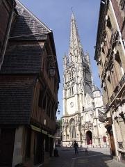 Eglise Saint-Martin - Français:   Harfleur, Église Saint-Martin, XIV-XVI siècle