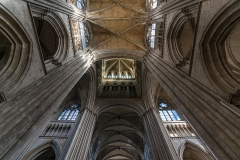 Ensemble archiépiscopal - English: The transept and the crossing of Rouen Cathedral
