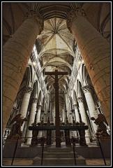 Ensemble archiépiscopal - Cathédrale de Rouen. Choeur.