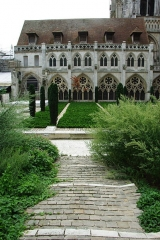 Ensemble archiépiscopal - This building is indexed in the Base Mérimée, a database of architectural heritage maintained by the French Ministry of Culture,under the reference PA00100800 .