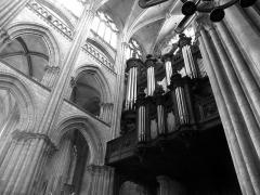 Ensemble archiépiscopal - Intérieur de la cathédrale Notre-Dame de Rouen (Seine-Maritime, France)