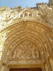 Ensemble archiépiscopal - Façade de la cathédrale