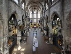 Ancienne église Saint-Laurent - Français:   Église Saint-Laurent (actuel musée Le Secq des Tournelles), Rouen, 2013.