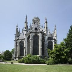 Eglise Saint-Ouen et Chambre des Clercs - Abbatiale Saint-Ouen, Rouen
