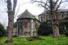 Ancienne église Saint-Paul -  Chevet de l'église Saint-Paul à Rouen (76).