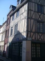 Immeuble - Français:   Rouen, rue des Bons-Enfants, n° 77