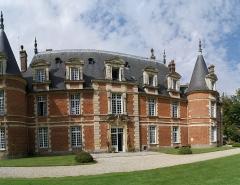 Château de Miromesnil (également sur commune de Tourville-sur-Arques) - Français:   Façade Sud du Chaâteau de Miromesnil à Tourville-sur-Arques (76)
