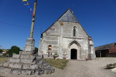 Eglise Saint-Martin - Français:   Abbaye Saint-Martin et Saint-Vulgain à Sigy-en-Bray, Seine-Maritime, France
