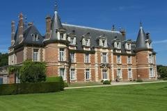 Château de Miromesnil (également sur commune de Saint-Aubin-sur-Scie) - Français:   Château de Miromesnil.