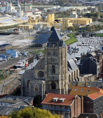 Eglise Saint-Jacques - Nederlands: Le Tréport (departement van de Seine-Maritime, Frankrijk): de Sint-Jacobskerk