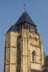 Eglise Saint-Jacques - Français:   Le Clocher de l\'église St Jacques au Tréport