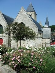 Eglise Saint-Martin - Français:   Église Saint-Martin de Veules-les-Roses, Seine-Maritime, France