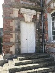 Domaine de Bretteville - Français:   Porte XVIIIème siècle de style rustique, château de Bretteville
